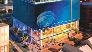 Millennial Tower's LED video board at issue before Downtown Commission