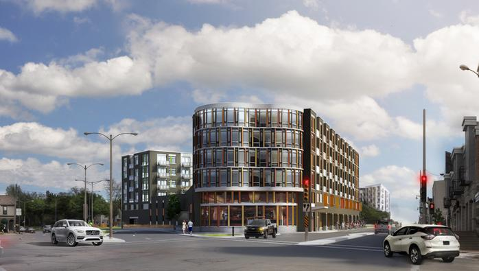 Bay View apartment building advances with Kinnickinnic Avenue business backing