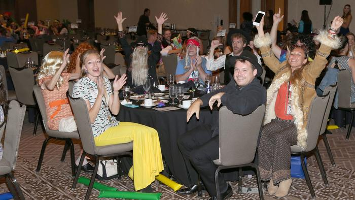 Hundreds of Austin professionals break out tie-dye, bandanas for Best Places to Work luncheon