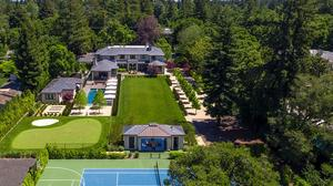 Photos: Golden State Warriors shareholder lists Atherton estate for $32.8 million