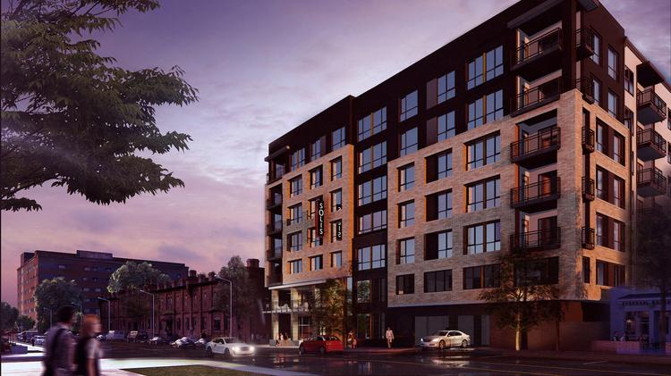 Crews Kick Off Construction Of New Solis Brightleaf Apartments In