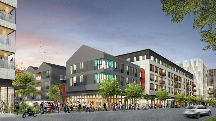 Work starts on Plaza Saltillo: Office tower, hundreds of apartments slated for East Austin