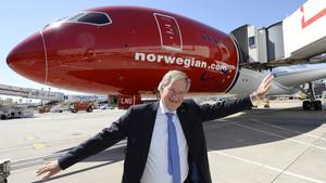 Norwegian Air CEO Bjorn Kjos prepares for low-fare dogfight in Seattle