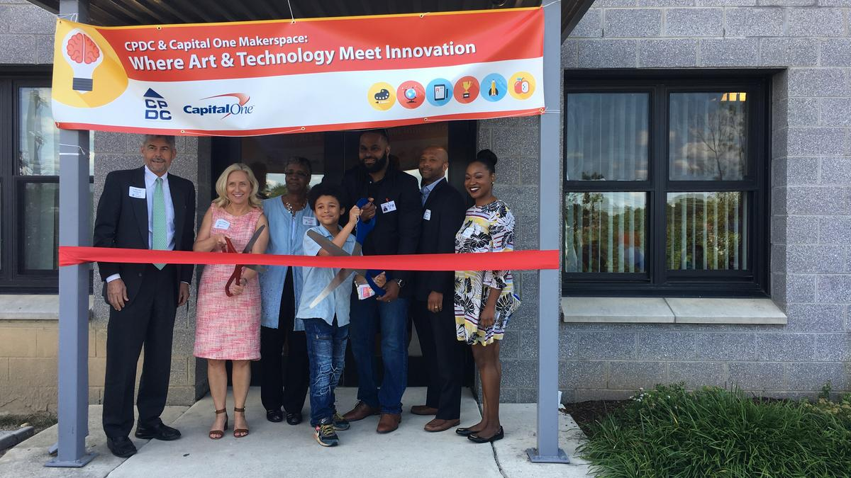 Capital one financial corp is behind d c 39 s new makers for Apartment makerspace