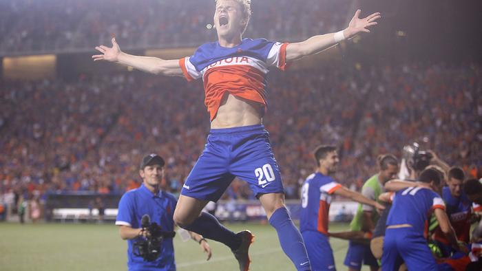 FC Cincinnati tops Chicago before record home crowd to advance: PHOTOS