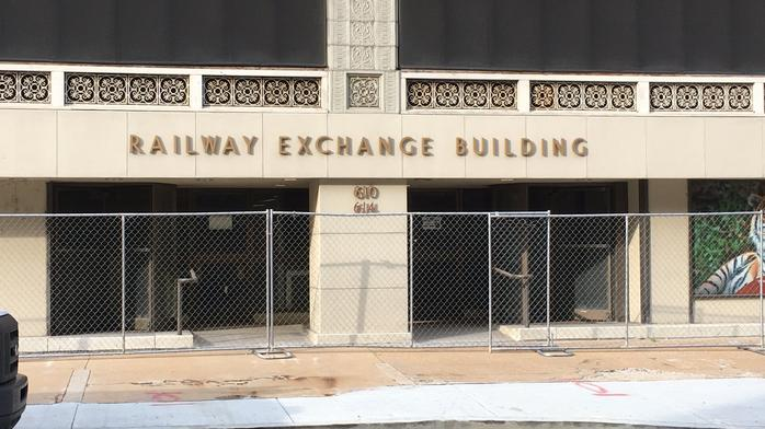 City intends to issue bonds to help pay for Railway Exchange rehab