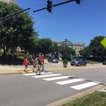 Biz: Say goodbye to boring crosswalk