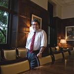The Boss: <strong>Nicholas</strong> <strong>Zeppos</strong>, Vanderbilt University