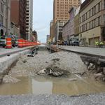 Streetcar construction on schedule in downtown Milwaukee: Slideshow
