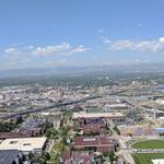 Sneak peek: The view from downtown Denver's 40-story office tower under construction
