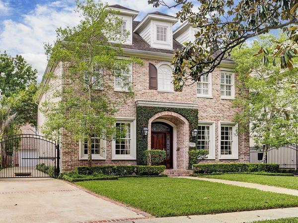 Expansive Traditional with Guest Quarters In West University Place