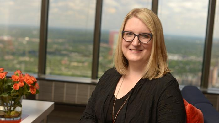 How Amy Salmela became IP law firm's first female shareholder, board member
