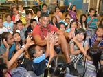 Marcus Mariota donates school supplies to Likelike Elementary School: Slideshow