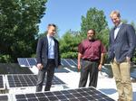 This startup spun out of SUNY Poly wants to make flexible solar panels cheap