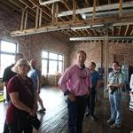 Downtown building brings 'a little dirt, a little grit' to Express creative space