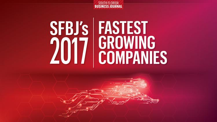 Here they are south floridas fastest growing companies of 2017 view slideshow 51 photos by by south florida business publicscrutiny Gallery