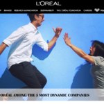 <strong>L</strong>'Oréal success story goes deep below the skin