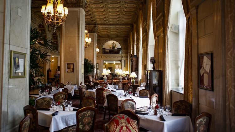 The English Grill At Brown Hotel Has Been Named As Most Restaurant In