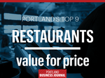 Portland's favorite restaurants: 9 places to get a good deal in 2017