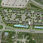 Hundreds of apartments being built next to Chase's Polaris complex