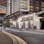 Arlington OKs adding 22 stories of residential atop Crystal City's Buffalo Wild Wings