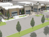 Metcalf South redevelopers plan to deliver two small buildings with big box