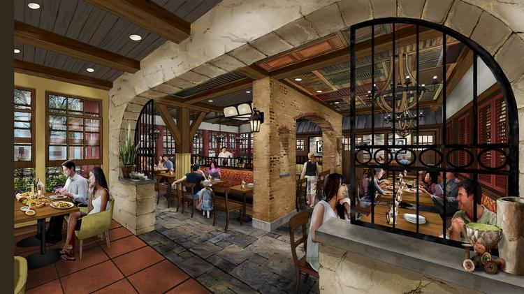 The Remade Terralina Crafted Italian Restaurant Will Open In Disney Springs Fall