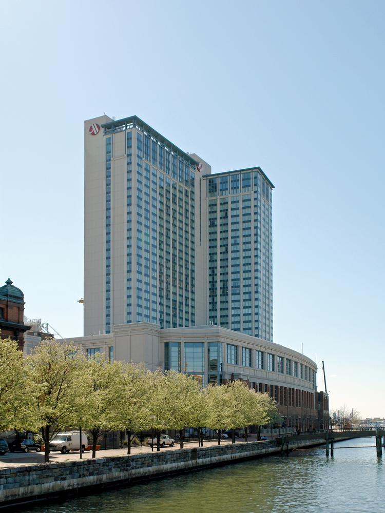 The Baltimore Marriott Waterfront Opened In 2001in Harbor East