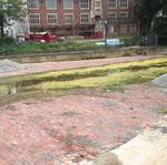 Why does Mirror <strong>Lake</strong> have a brick bottom? An Ohio State mystery