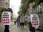 When Tufts nurses return to work Monday, they'll have no contract
