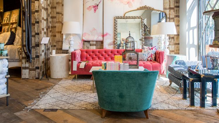 Anthropologie Adds Furniture Showcase