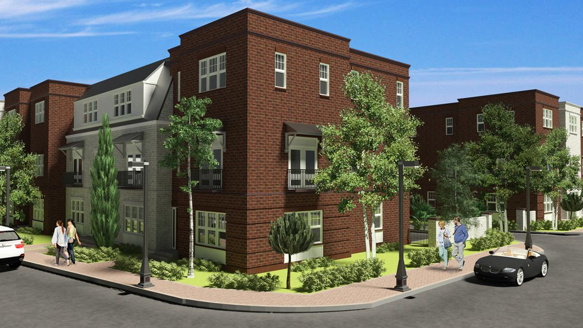 park place at winter garden luxury townhomes to begin construction
