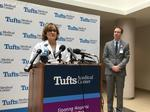 As union gripes, Tufts Medical replacement nurses pick up slack