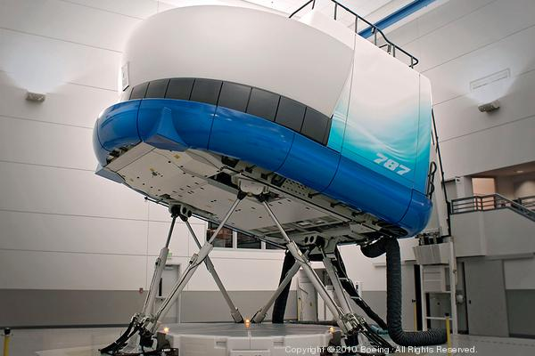 Boeing adds flight simulators at London Gatwick center for 787s and