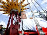 For this Six Flags executive, the job is a thrill ride