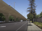 Fly along high-speed rail's route through San Jose in new video