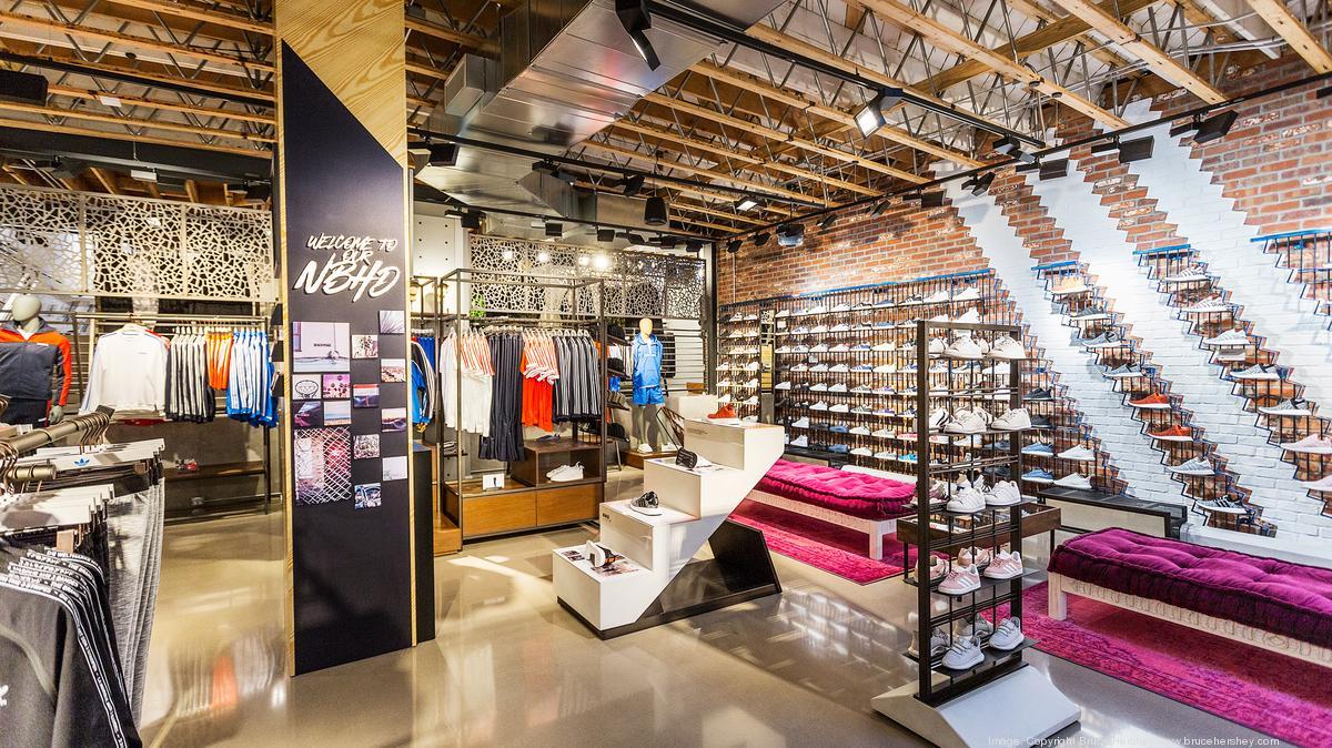 Adidas opens Originals store in California (Photo