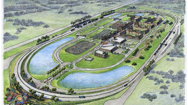 The 400-acre site along Interstate 4 will have a track for the autonomous vehicles to be tested in a simulated urban environment.
