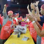Good Works: AARP Foundation volunteers pack more than 500,000 meals for seniors