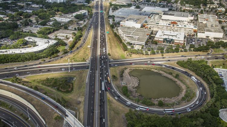 FDOT plans new lanes to ease bottlenecks on SR 60 and I-275
