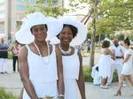 Here's what you missed if you didn't make it to Baltimore's first Diner en Blanc