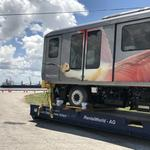 Tampa International's new SkyConnect trains arrive from Japan (Video)