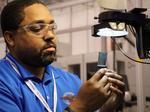 Behind aerospace engine manufacturer Pratt & Whitney's DFW operation