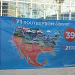 Frontier Airlines is adding 21 nonstop destinations from Denver