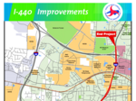 NCDOT: We need public's help with I-440 widening