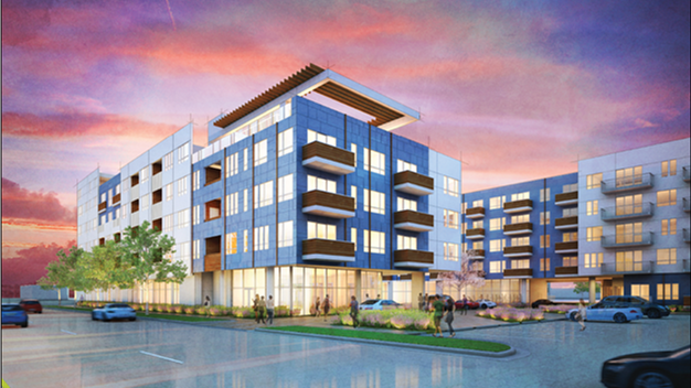 Unit Apartment Complex Planned Near Rtd S Colorado Station
