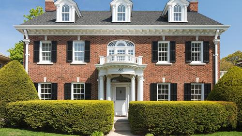 Pristine All-Brick Center Hall Colonial