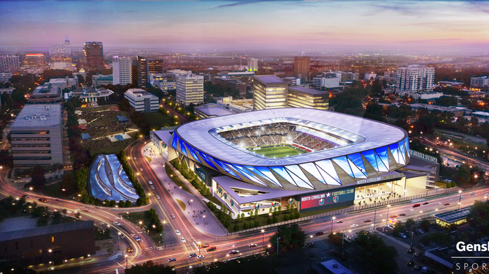 Why this downtown site for new stadium?