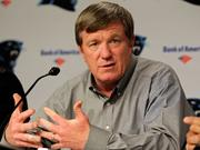 Marty Hurney, who served as general manager of the Carolina Panthers until 2012, is returning to the organization as interim GM.