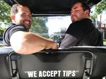 Downtown golf-cart ride service humming along under new city rule allowing micro-transit
